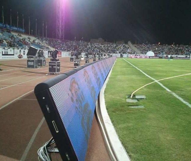 شاشات ملاعب كرة القدم