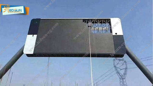 شاشه اعلانات فيديو ليد