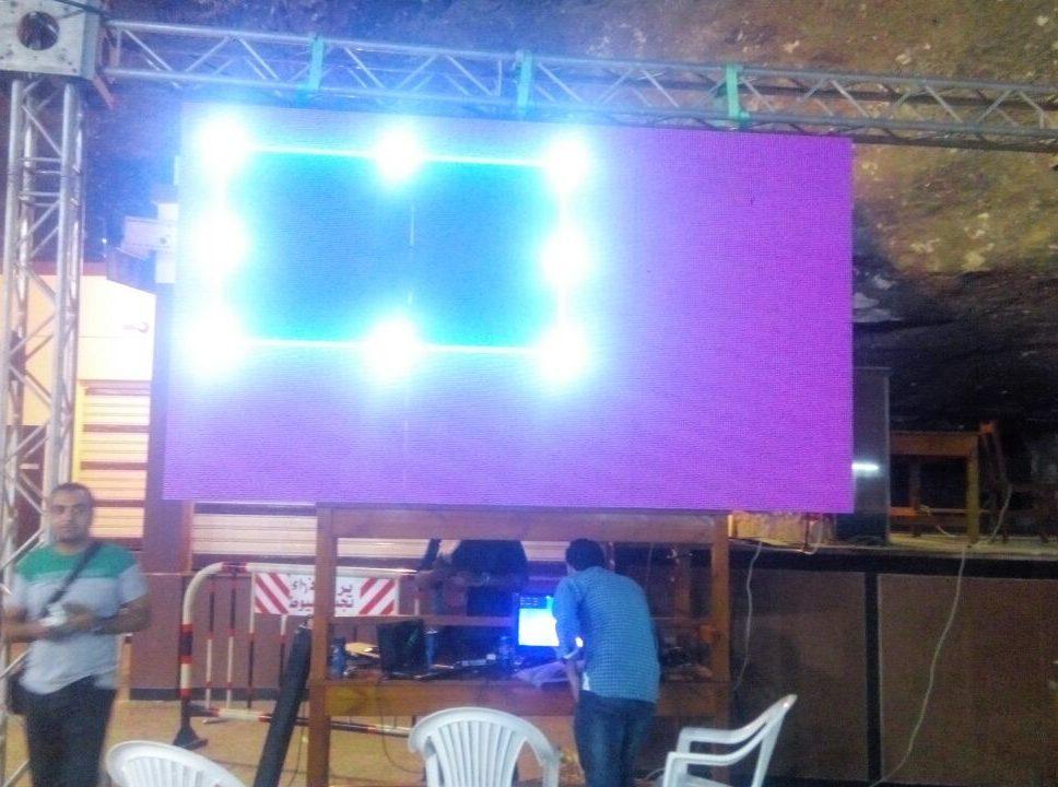 بيع وتركيب شاشة عرض ليد سكرين دير السيده العذراء مريم - جبل درنكه اسيوط