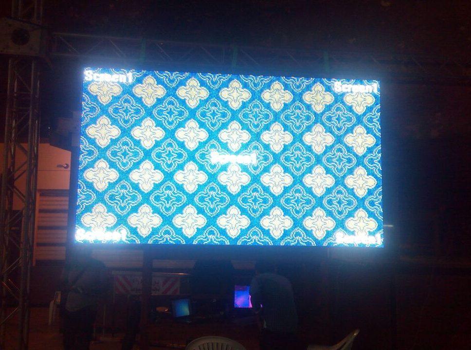 شاشات فيديو ليد - led