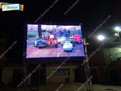تركيب شاشات عرض فيديو عملاقه لنادى النصر الرياضى