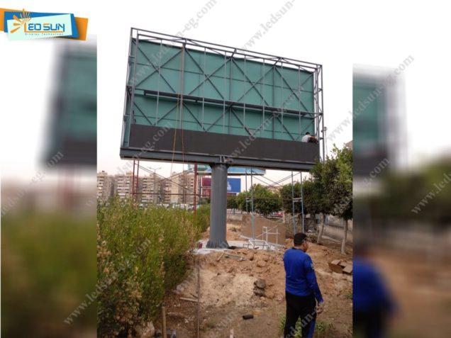 شاشات فيديو خارجية داخل مدينة نصر